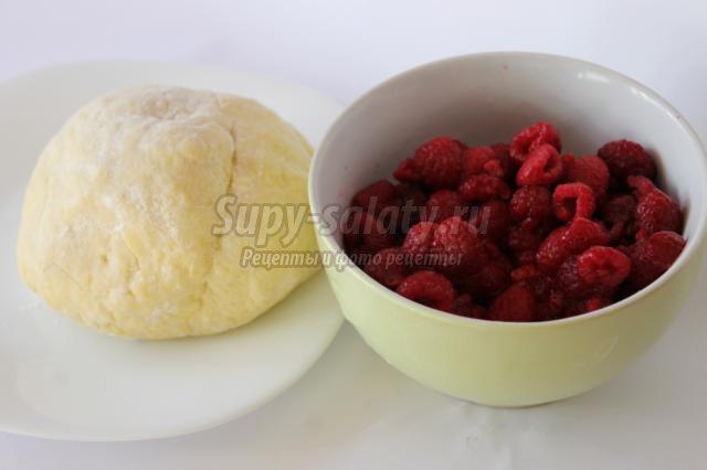 вареники с малиной рецепт с фото
