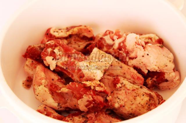 рецепт салата из брюшков