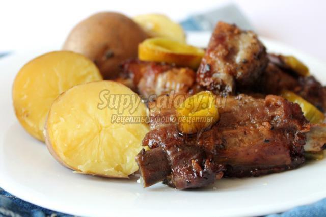 мясо в духовке в фольге рецепт с горчицей