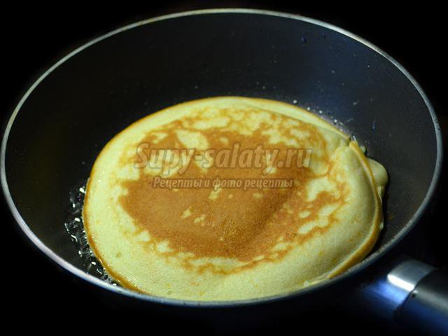 Панкейки без яйца рецепт фото