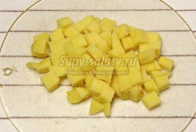 постный гороховый суп с овощами