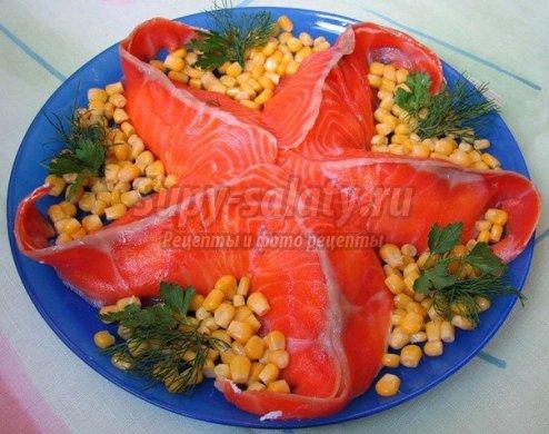 как приготовить салат морская звезда