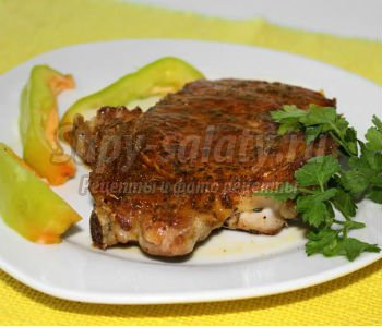 мясо в фольге в духовке рецепт с фото на кости