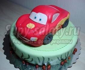 Праздничный торт для мальчика на День Рождение