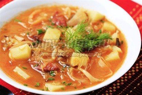 Самые лучшие рецепты супа с капустой