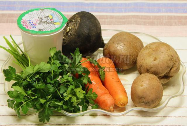 салат морковь с редькой рецепт с фото