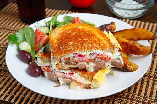 Как приготовить жареные бутерброды?