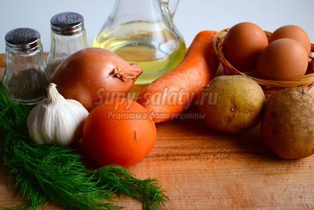 пасхальный яичный суп