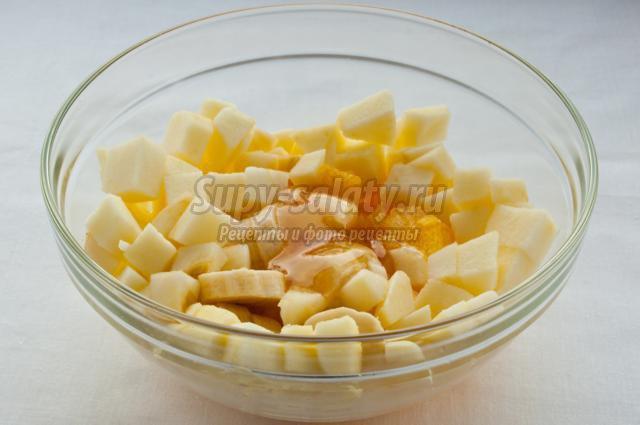 фруктовый салат с гранатом