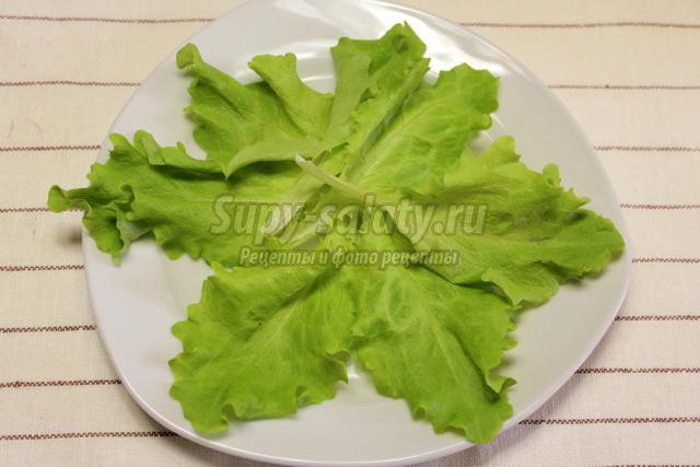 салат из краснокочанной капусты со свежими овощами