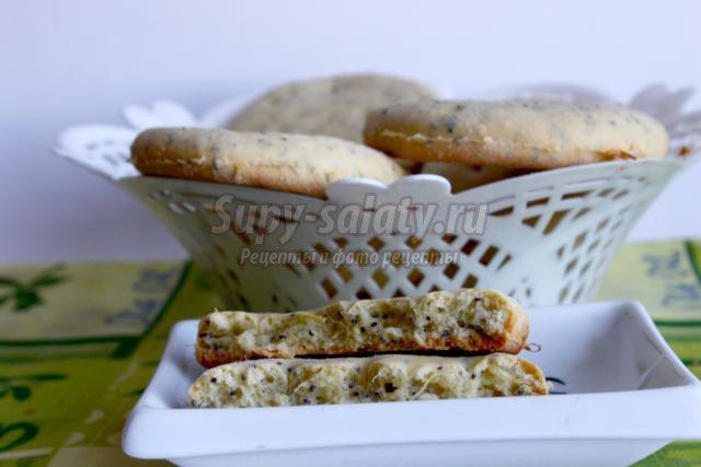 имбирное печенье с маком