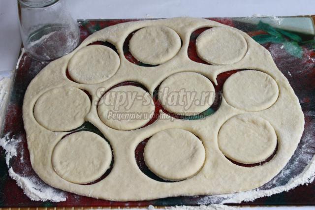 рецепт приготовления пирожков с рисом и яйцом