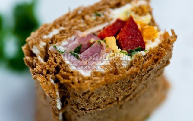 Суши из хлеба