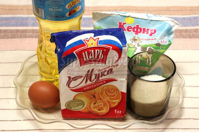 оладьи на кефире и манке пышные рецепт с фото пошагово