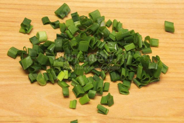 легкий салат-гарнир к шашлыку