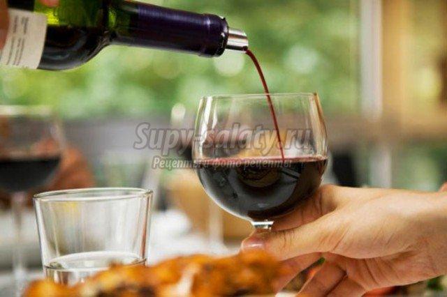 Как правильно подать вино к столу