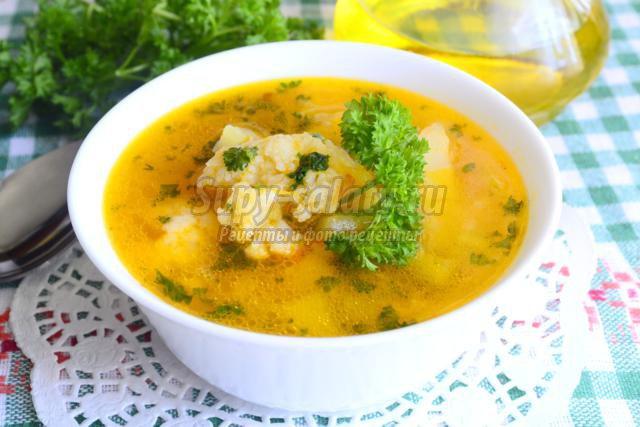 овощной суп для похудения рецепт с капустой