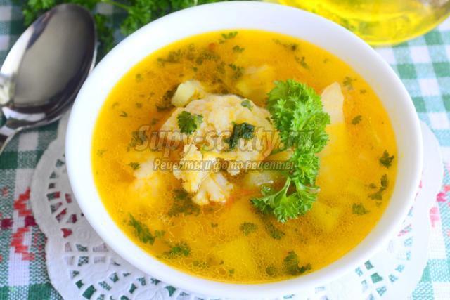 овочевий суп рецепт з фото