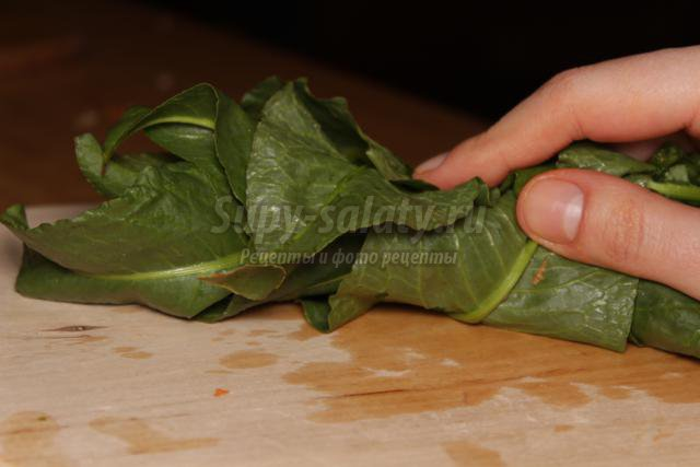 Витаминный салат Апрельский