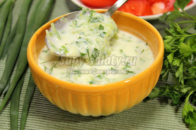 Как сделать белый соус к шашлыку 377