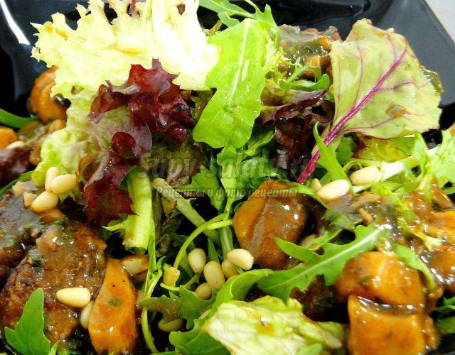 Красивый салат на день рождения рецепт 85