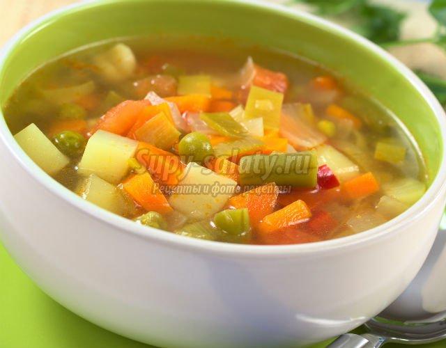 овощной луковый суп рецепт