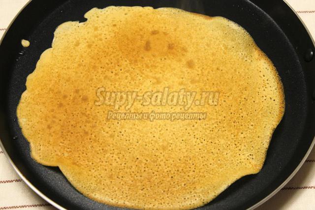 рецепт блинов на молоке тонкие с дырочками пошаговый рецепт с фото пошагово