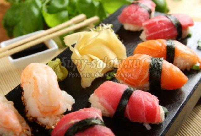 Как приготовить нигири-суши в домашних условиях