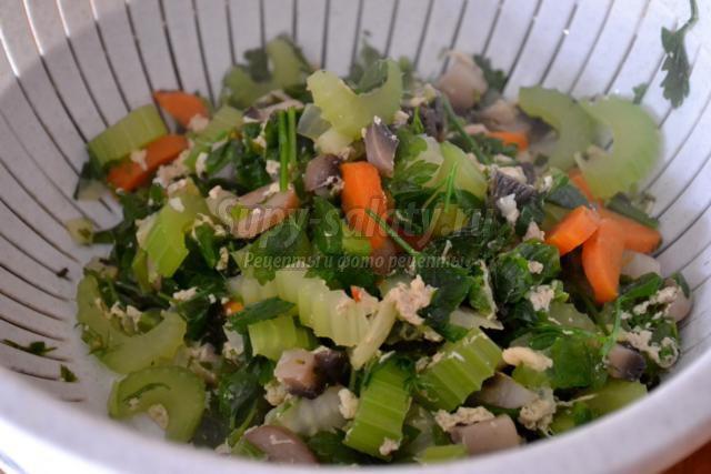 диетический крем-суп из сельдерея