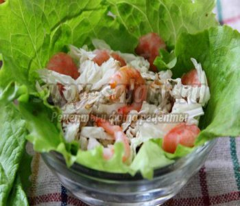 Салат коктейль с красной рыбой рецепты 50