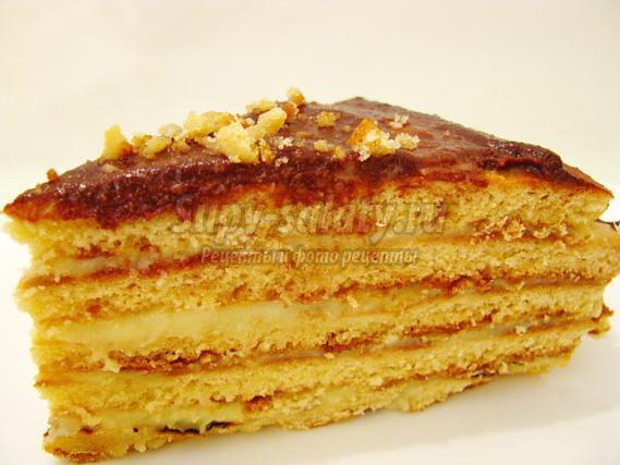 Торт на сгущенном молоке рецепт на сковороде 81