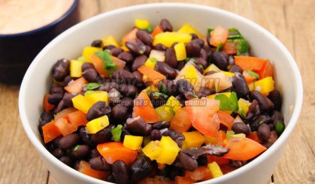Овощной салат Гаспачо