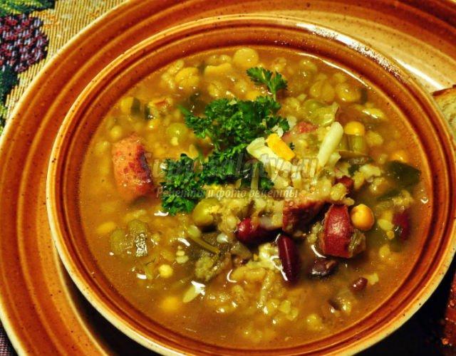 Фасолевый суп. 15 лучших рецептов