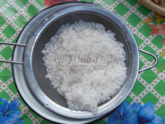Рисовые тефтели