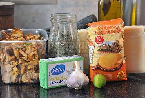 итальянское блюдо из кукурузной крупы полента