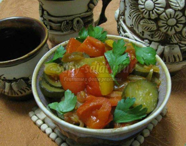 рагу овощное. Самые популярные рецепты