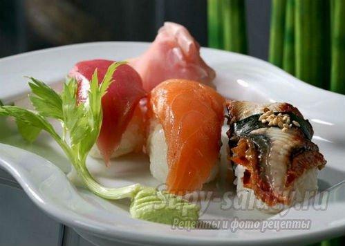 экзотическое блюдо из рыбы