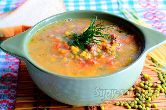 Рецепт приготовления суп из маша