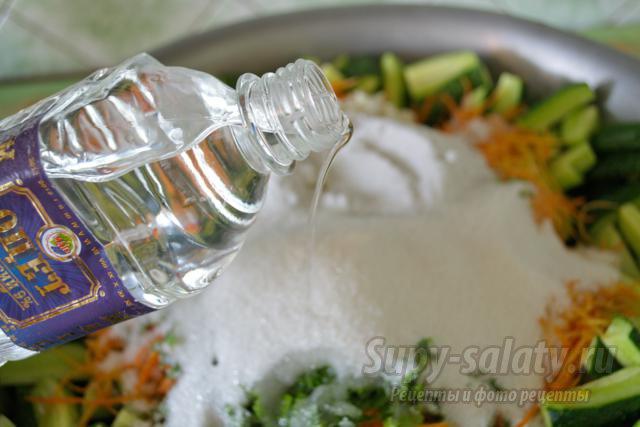 Заготовки салатов фото