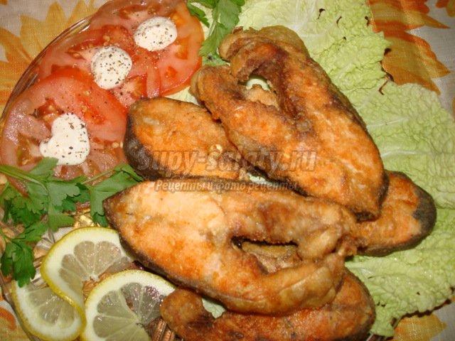 Рецепты жареной красной рыбы