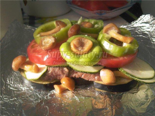 кабачки в духовке