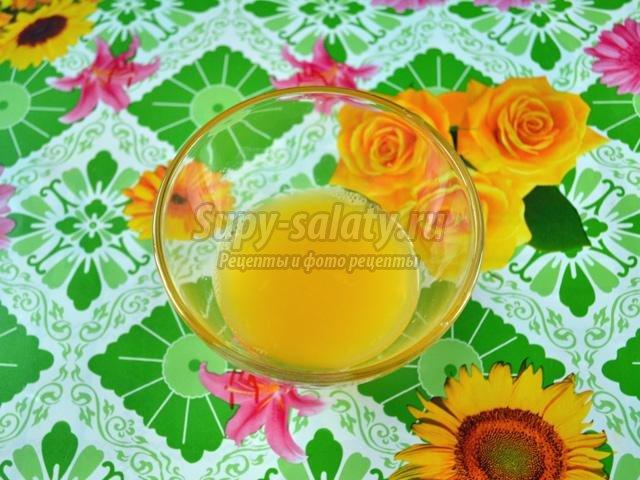 рецепт салата с капустой и апельсинами