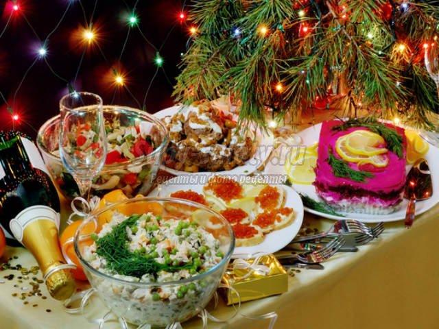 Рецепты на Новый год 2014
