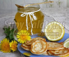 Вкусное варенье из одуванчиков с лимоном