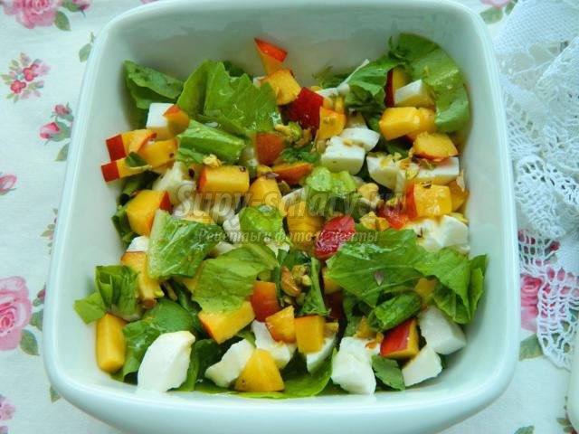 Рецепт летних салатов с