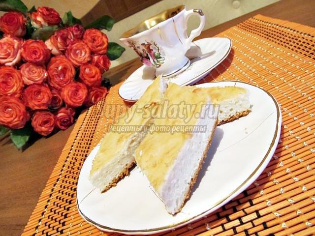 воздушный кокосовый пирог