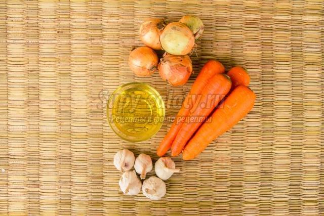 морковная закуска на зиму