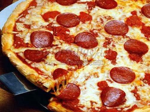 Пицца Пепперони: как приготовить?