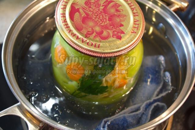Рецепт маринования помидоров и огурцов на зиму в банках