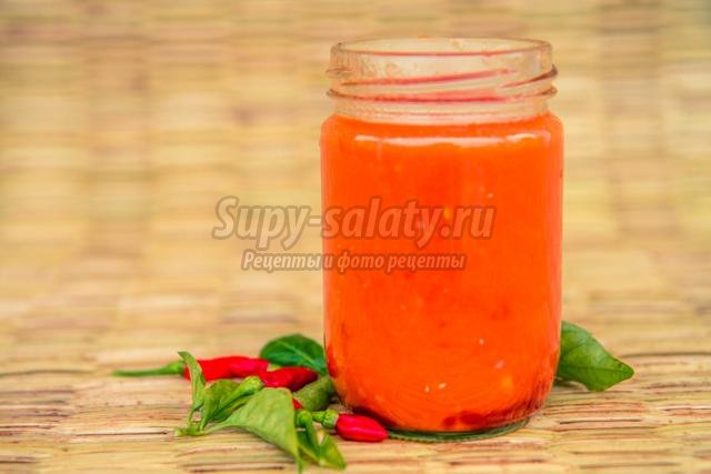 острый томатный сок на зиму